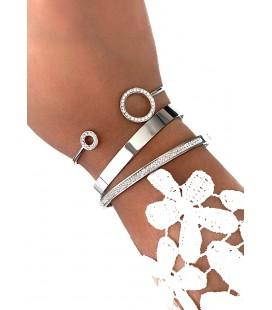 Bracelet Jonc MELY Argenté