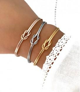 Bracelet NOEUD Acier