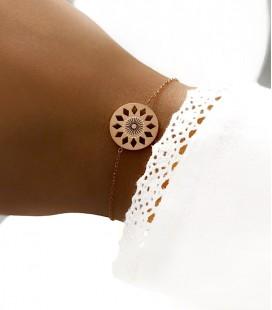 Bracelet DELYA Acier Rosé