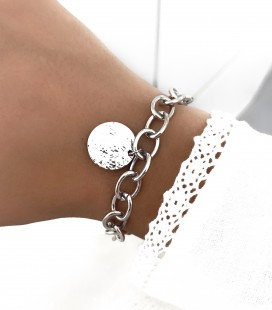 Bracelet GRACE Acier Argent
