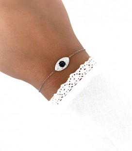 Bracelet VAENA Acier Argent