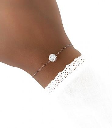 Bracelet CALISSA Acier Argent