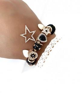Bracelet Breloques OLLA Or