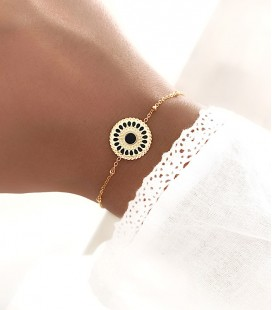 Bracelet ENORA Acier Or