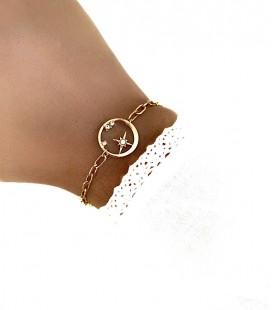 Bracelet DUNE Acier Or