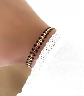 Bracelet LEAF Acier Or