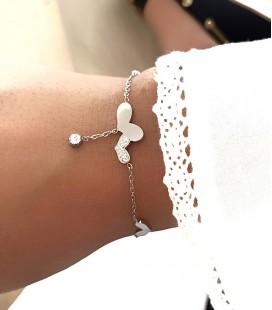 Bracelet CARLA Acier Argent