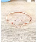 Bracelet Jonc JOANE Rosé