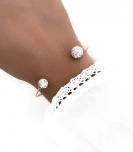 Bracelet SHANNA Acier Rosé