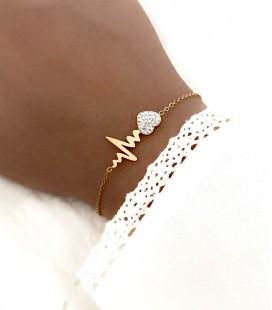 Bracelet SELEN Acier Or