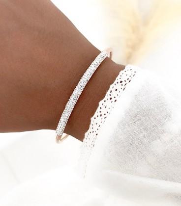Bracelet GLAMY Acier Rosé
