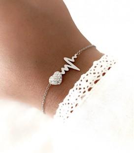 Bracelet SELEN Acier Argent