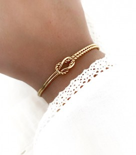 Bracelet MASSY Acier Or