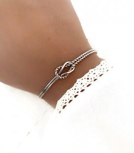 Bracelet MASSY Acier Argent