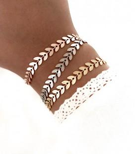 Bracelet LEAF Acier