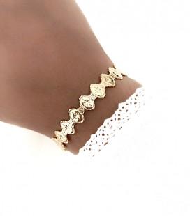 Bracelet KARA Acier Or