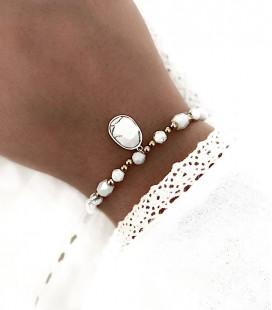 Bracelet ALVA Acier Or