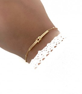 Bracelet MYLA Acier Or