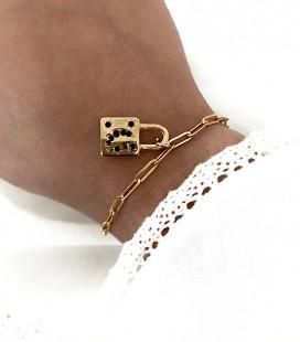 Bracelet CADENAS Acier Or