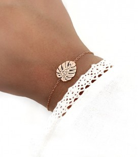 Bracelet VINA Acier Rose