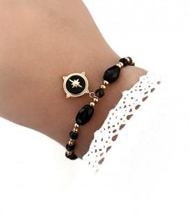 Bracelet KRISHNA Acier Or