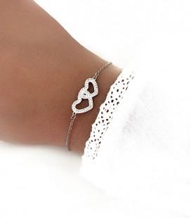 Bracelet MIRA Acier Argent