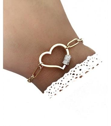 Bracelet JENA Acier Doré