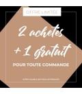 Boucles MENOTTES Acier Argent