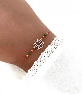 Bracelet NINA Acier Or