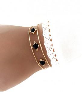 Bracelet RANY Acier Or
