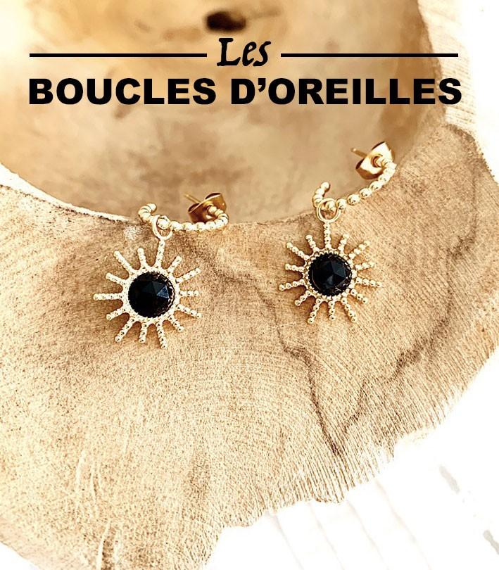 Les Boucles D'oreilles - Aya Bijoux