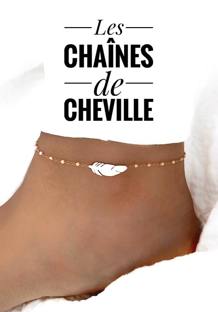 Les Chaînes de Cheville - Aya Bijoux