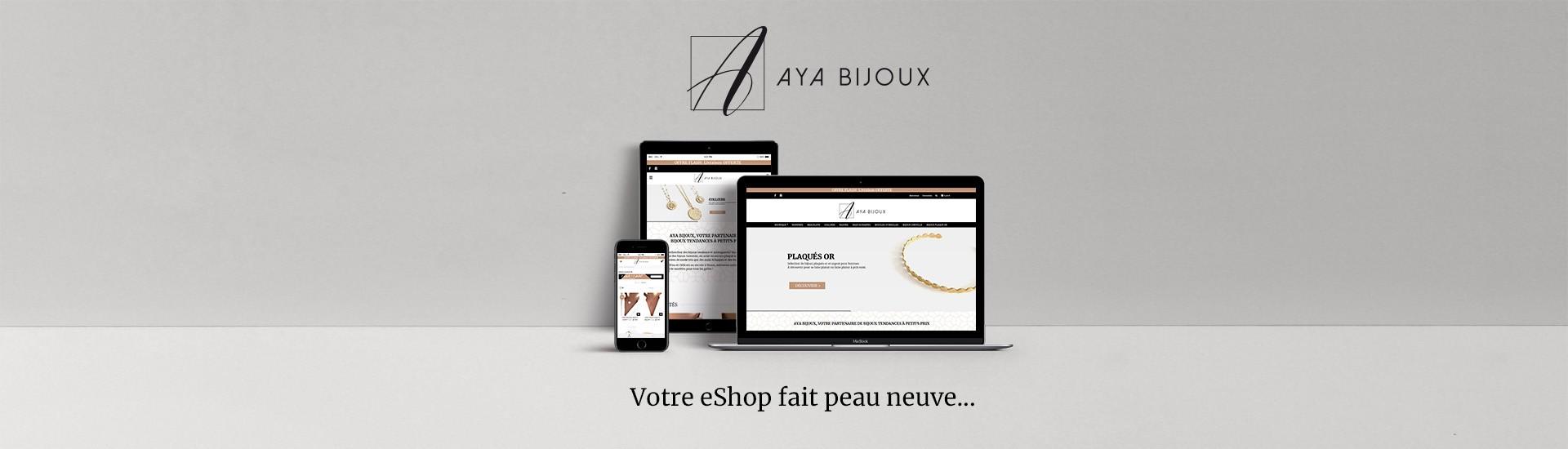 Nouveau site Aya Bijoux